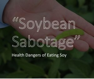 health dangers of eating soy